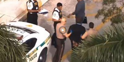 Video. Policías guatemaltecos de cerca en la captura de prófugo en Estados Unidos