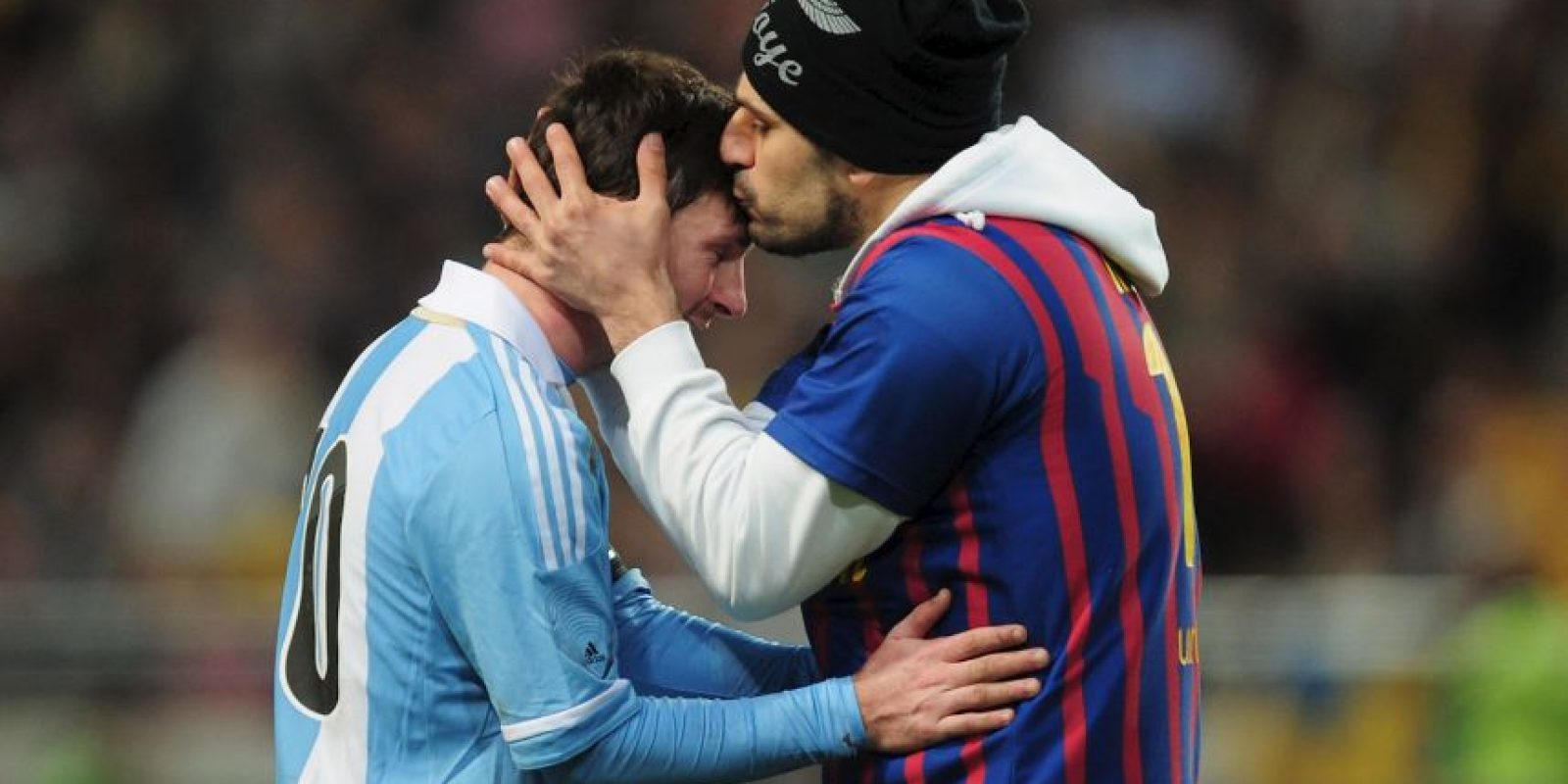 Los mejores momentps de Lionel Messi al lado de sus fanáticos Foto:Getty Images
