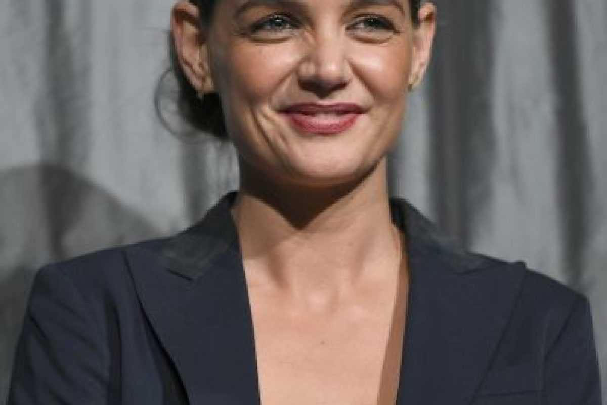 Así lucía katie Holmes poco después de finalizar esta relación. Foto:Getty Images