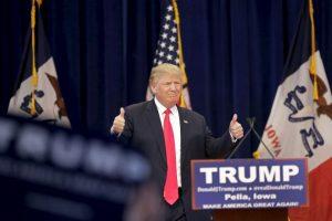 El miedo hacia los inmigrantes de distintas poblaciones, entre algunos otros factores, ha hecho que su campaña esté teniendo éxito. Foto:Getty Images