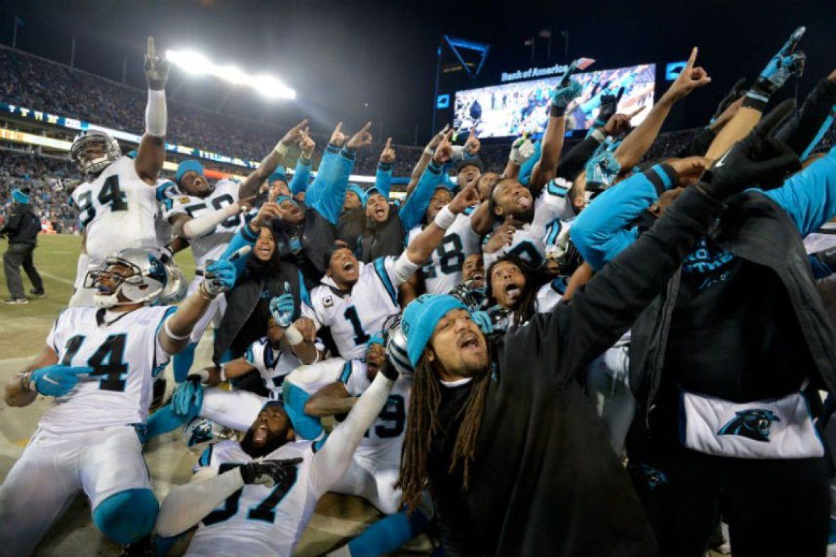 Así celebraron las Panteras su pase al Super Bowl Foto:Getty Images
