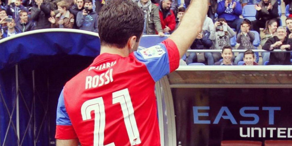 Emotivo agradecimiento de aficionado del Levante a Guiseppe Rossi por su fichaje con el club