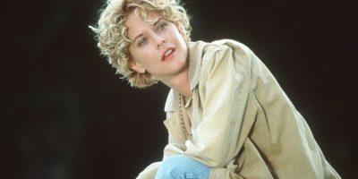 Meg Ryan lucía así hasta 1998, siete años después de haberse casado con el actor Dennis Quaid. Foto:Getty Images