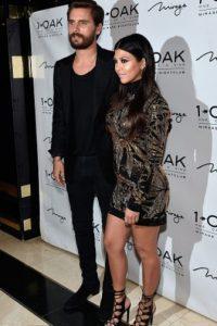 La única que tuvo una pareja caucásica desde siempre fue Kourtney Kardashian, junto a Scott Disick. Foto:vía Getty Images