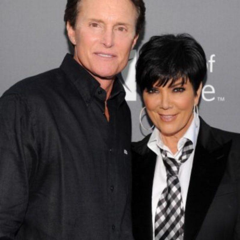 Después de Rob Kardashian, Kris tuvo un matrimonio de años con Caitlyn Jenner. Foto:vía Getty Images
