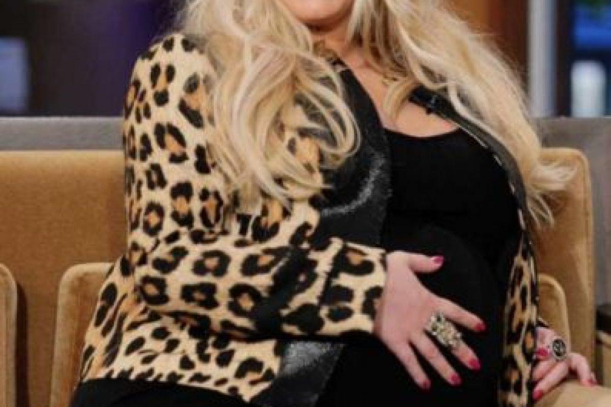 En 2002 la pareja unió sus vidas y así se veía la cantante en su primer embarazo en 2012.