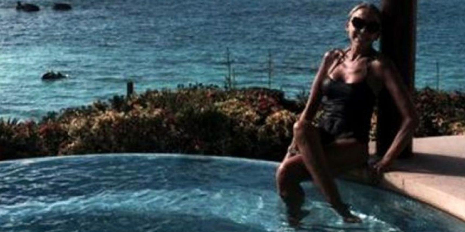 Foto:No es la primera vez que Laura Bozzo comparte una foto en traje de baño.