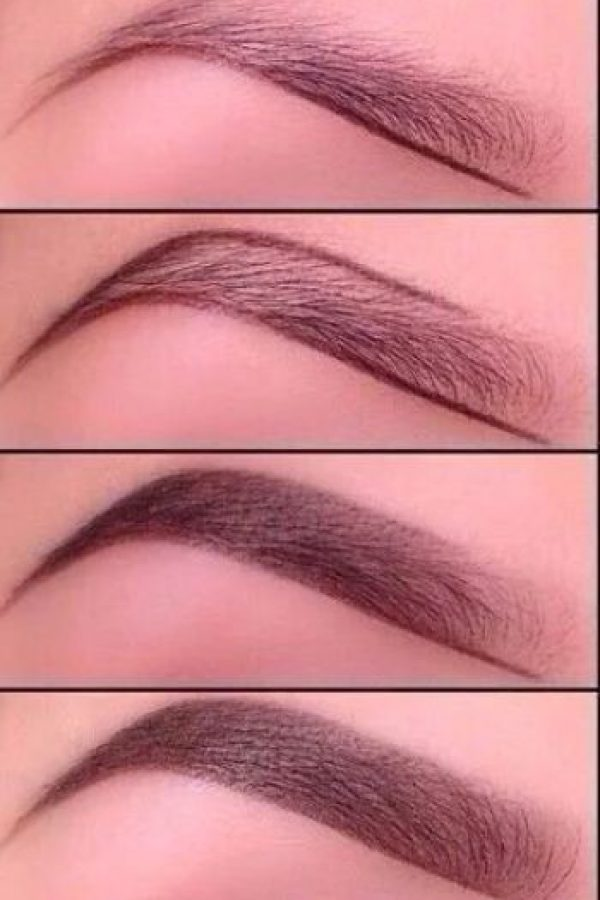 ¿Cómo maquillar la ceja? Foto:Tumblr