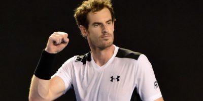 El británico empuña su mano en señal a victoria. Foto:AFP