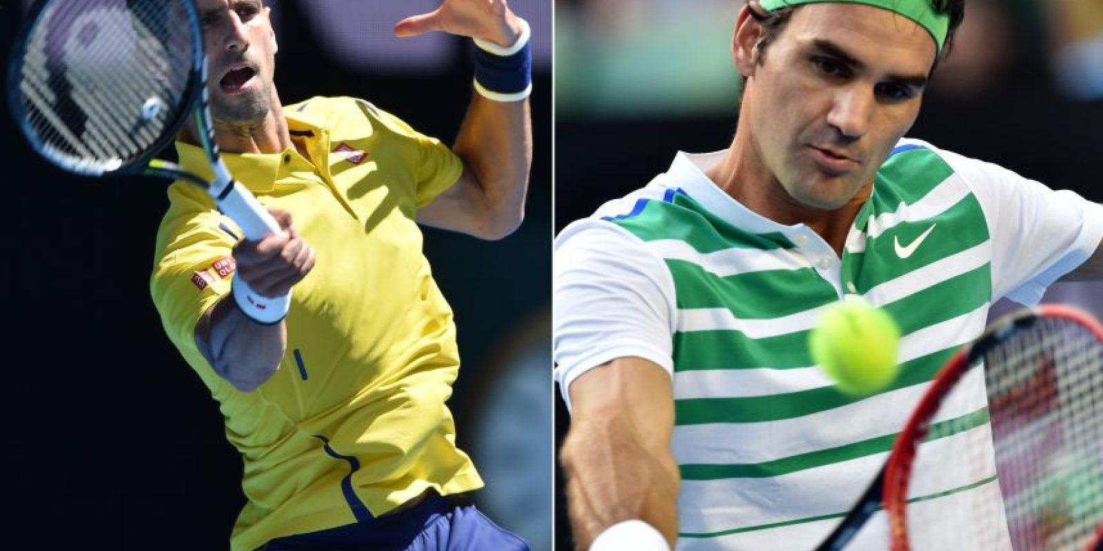"""Nole y """"Su Majestad"""" se medirán en las semifinales de Australia 2016. Foto:AFP"""