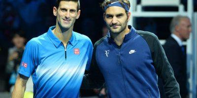 El tenista serbio Novak Djokovic y el suizo Roger Federer Foto:AFP