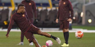 El jugador inglés en la práctica antes de un partido. Foto:AFP