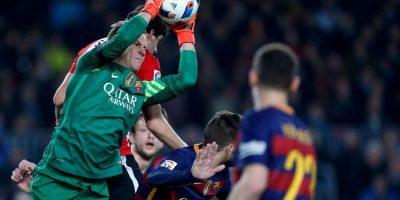 Acción del partido entre FC Barcelona y Athletic de Bilbao