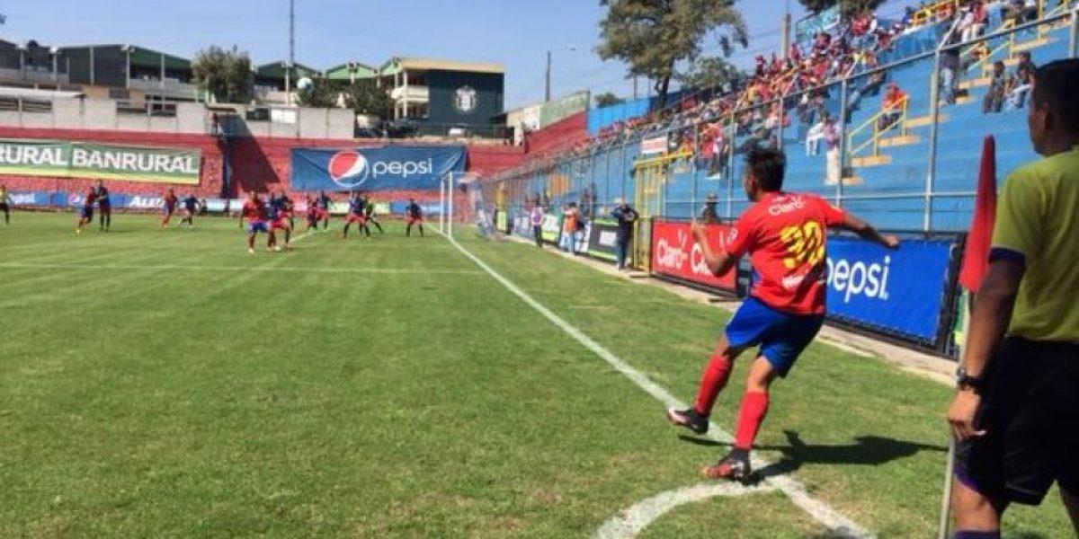 Resultado del partido Municipal vs. Xelajú MC, Fecha 3 del Torneo Clausura 2016