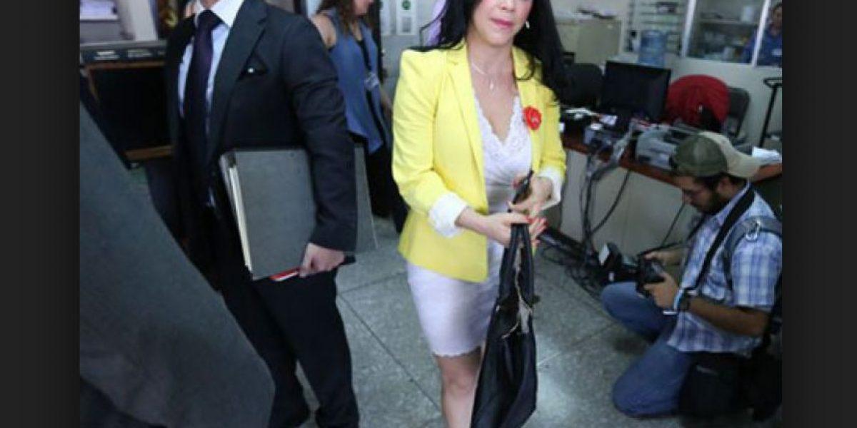Tribunal realiza juicio a exdiputada de Líder por malversación de Q4 millones