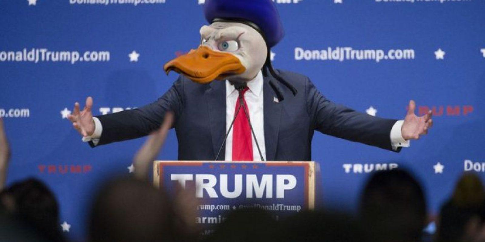 Con estas ediciones se burlan de la ira de Donald Trump Foto:Imgur / Reddit