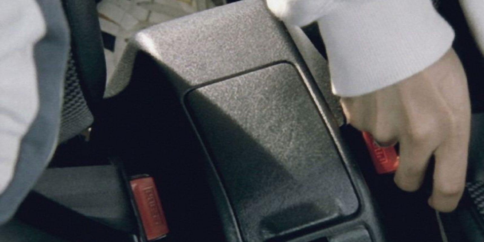 El uso de cinturones de seguridad son para su protección. Por lo tanto, acostúmbrense a usarlo. Foto:Getty Images