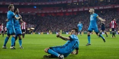 Tienen una ventaja de 2-1 sobre los de Bilbao Foto:Getty Images