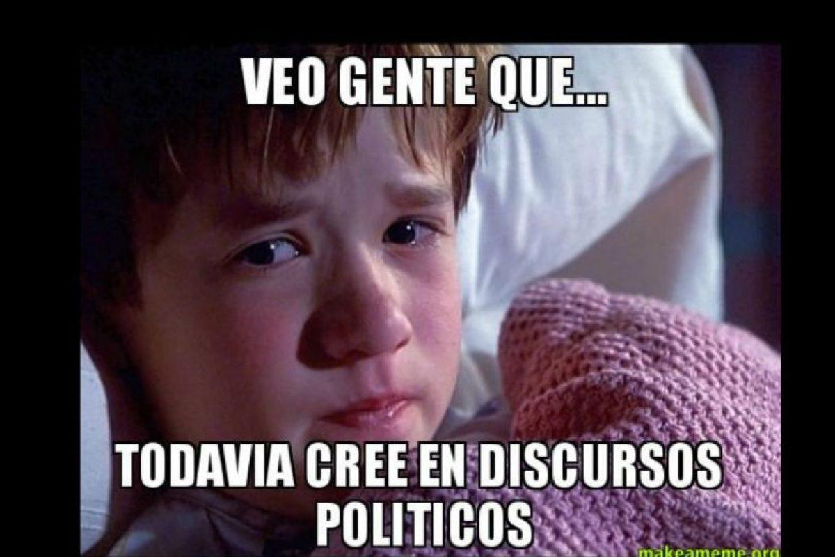 Los políticos que se volvieron meme Foto:Vía Twitter