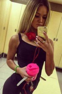 Kristina Lubysheva Foto:Vía instagram.com/kissluckchris