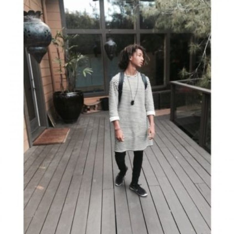 Así ha crecido Jaden Smith Foto:Vía Instagram/@christiaingrey