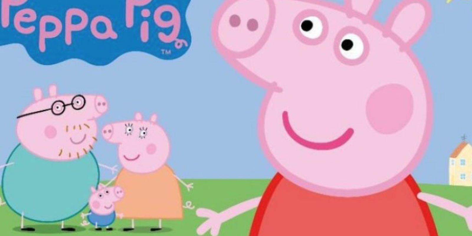 Peppa Pig (conocida en América Latina como Peppa) es una serie infantil de dibujos animados creada por Neville Astley y Mark Baker. Foto:Vía Youtube
