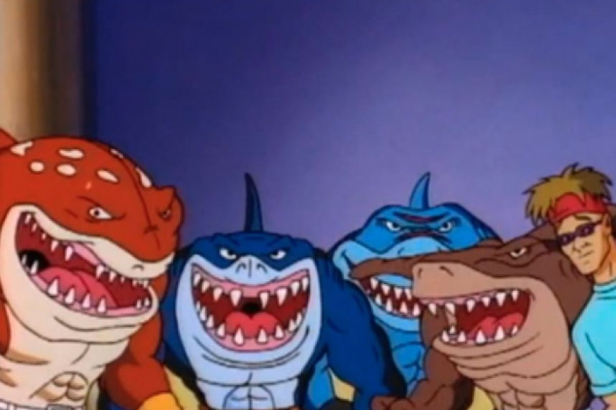 """A continuación podrán ver algunas imágenes de """"Street Sharks"""". Foto:Vía Tumblr"""