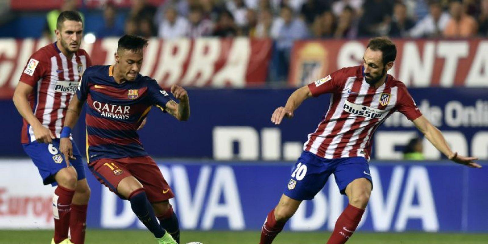 Neymar anotó el gol del empate para los catalanes. Foto:AFP