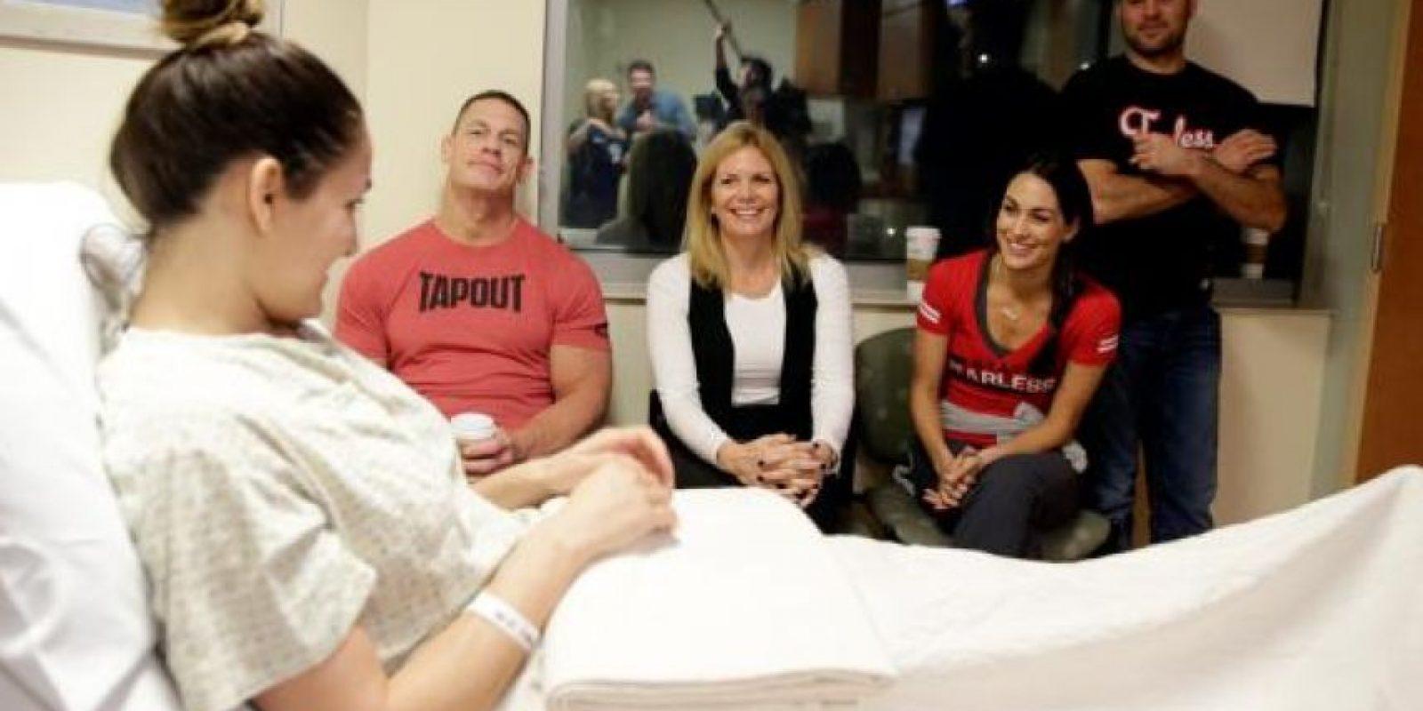Se sometió a una cirugía de cuello para reparar una hernia de disco. Foto:WWE