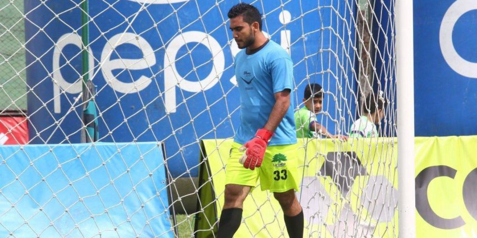 Víctor Ayala es uno de los jugadores que dio positivo. Foto:Antigua GFC