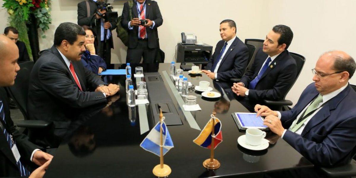 Este es el ofrecimiento de Nicolás Maduro al presidente Jimmy Morales