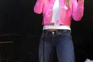 Y muchos adolescentes y jóvenes de comienzos de 2000 cantaron con ella. Foto:vía Getty Images