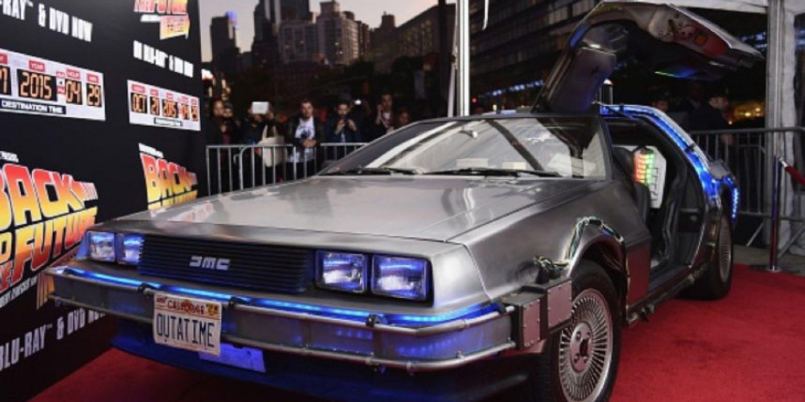 El DeLorean se fabricará de nueva cuenta. Foto:Getty Images