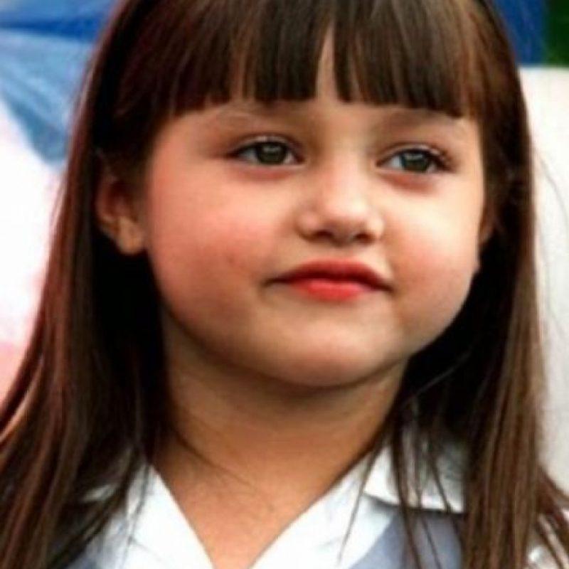 """Andrea Lagunés se hizo popular por """"Gotita de Amor"""". Foto:vía Facebook"""