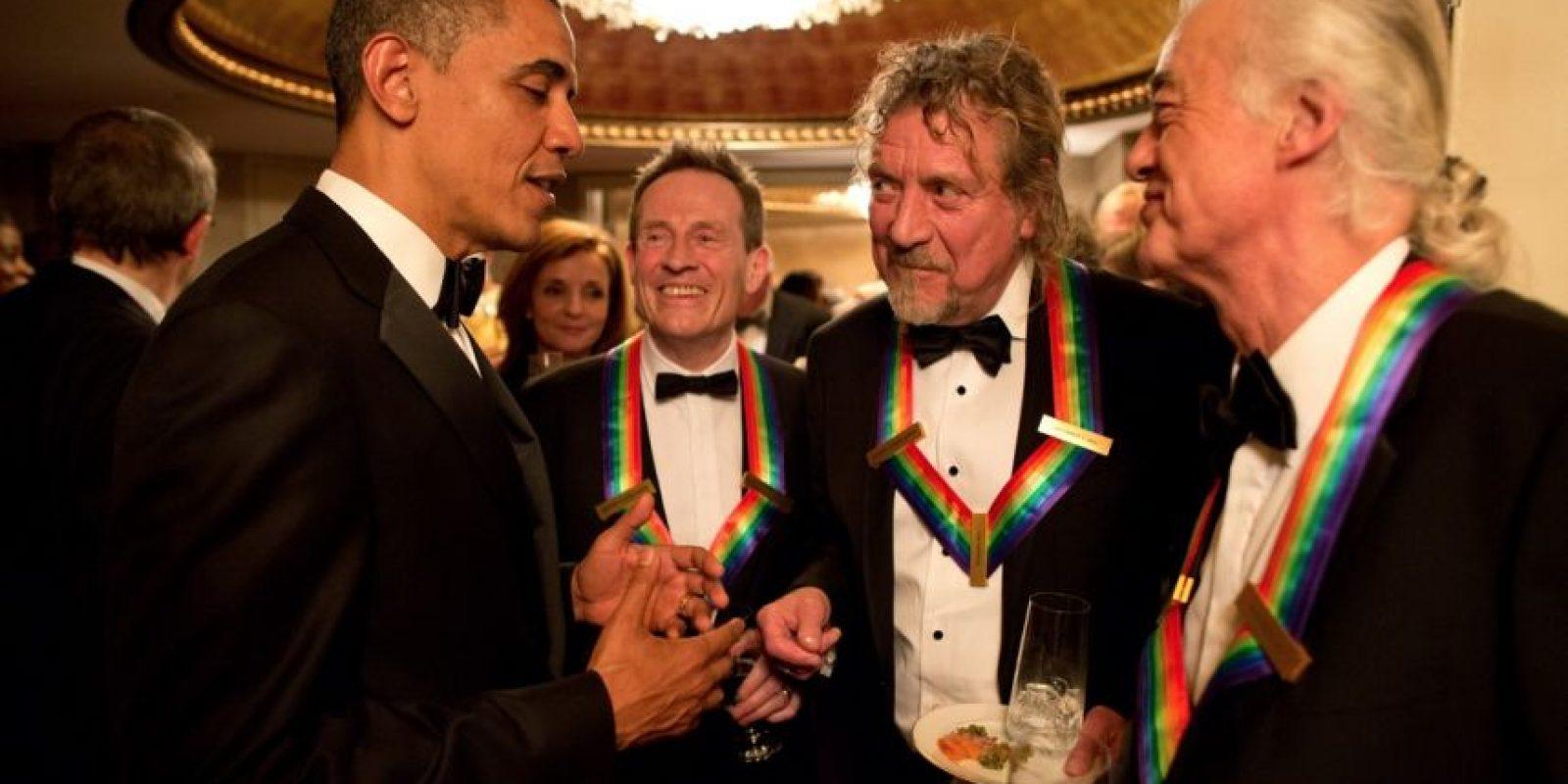 Miembros de la agrupación Led Zeppelin. Foto:Wikipedia.org