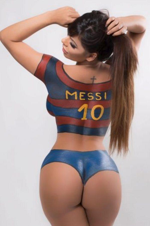 Y admira a Lionel Messi Foto:Via instagram.com/suzycortezoficial
