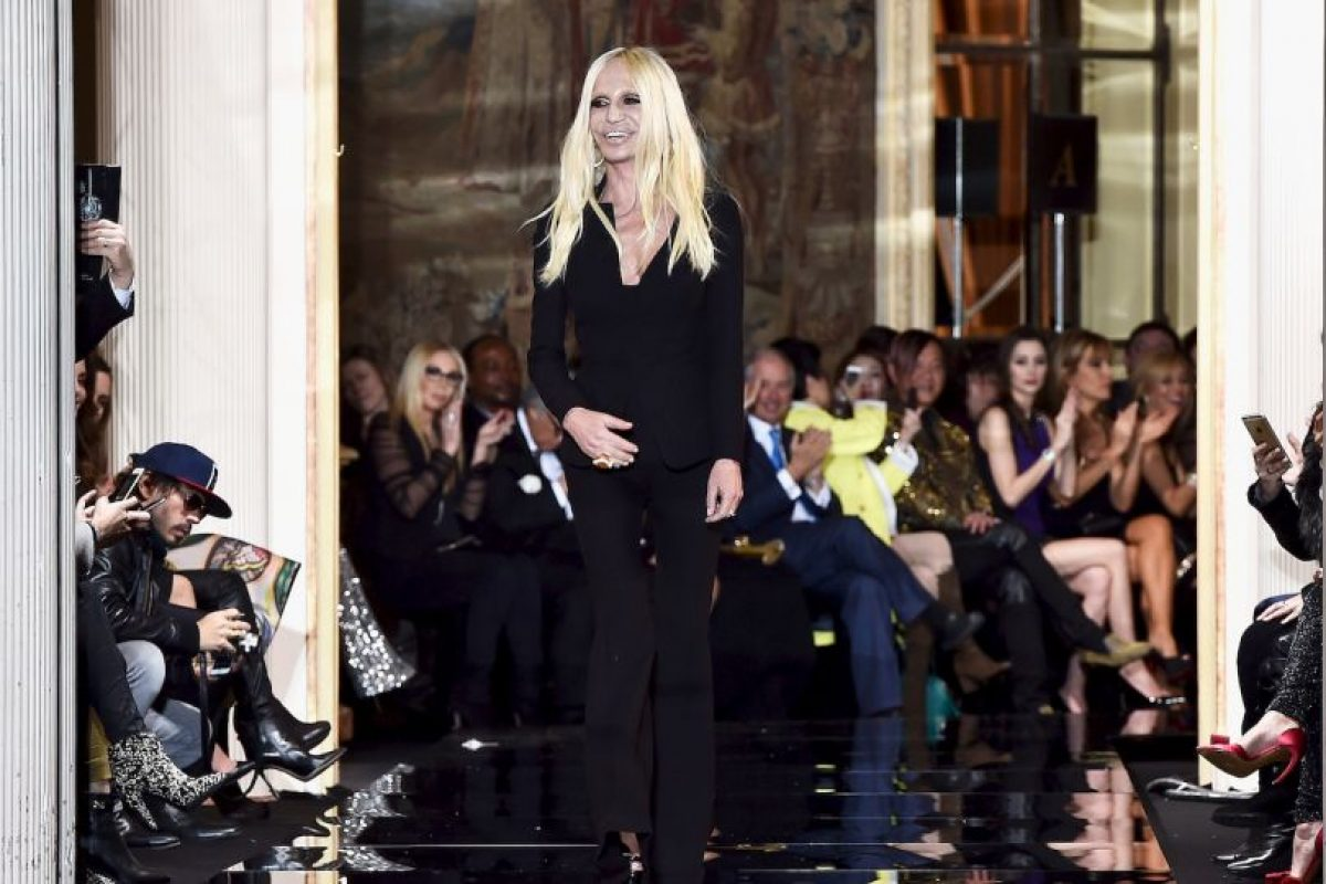 Donatella Versace después Foto:Getty Images