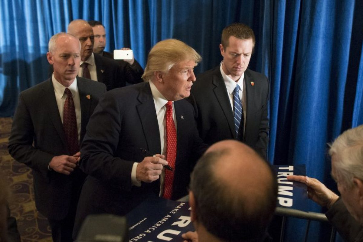 El jueves 28 de enero Trump se negó a participar en el debate de precandidato organizado por Fox News Foto:Getty Images