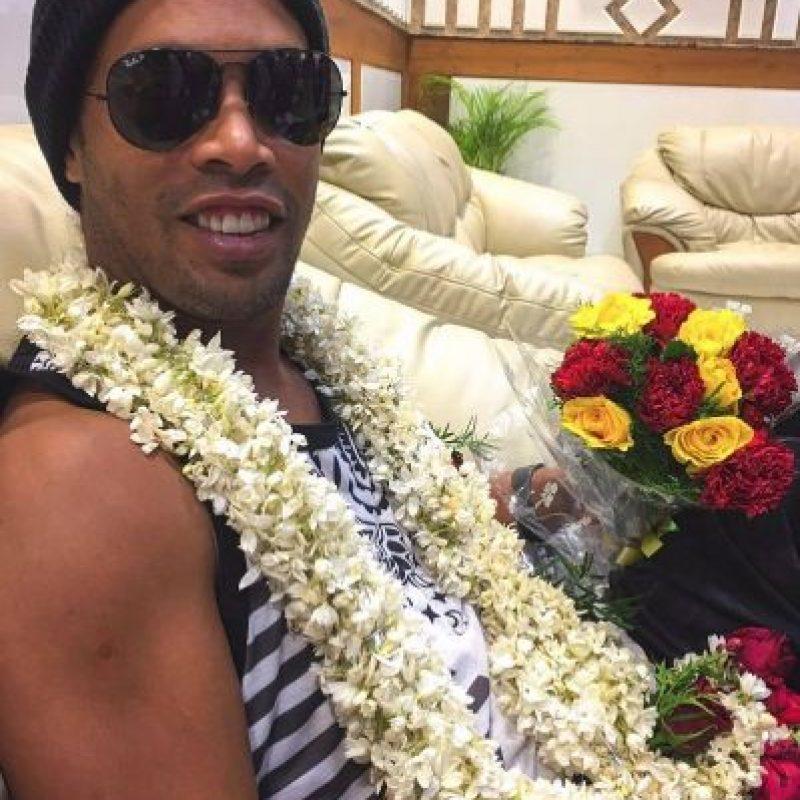 Las mejores imágenes de las redes sociales de Ronaldinho Foto:Vía instagram.com/ronaldinhooficial