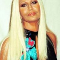 Donatella Versace antes Foto: Getty Images