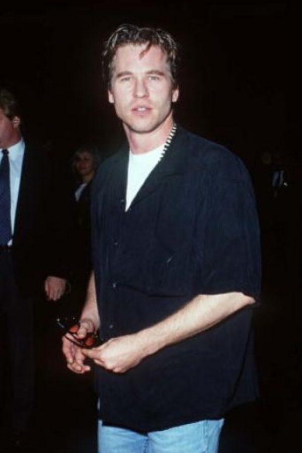 Val Kilmer fue otro de los actores más atractivos de los 90. Foto:vía Getty Images