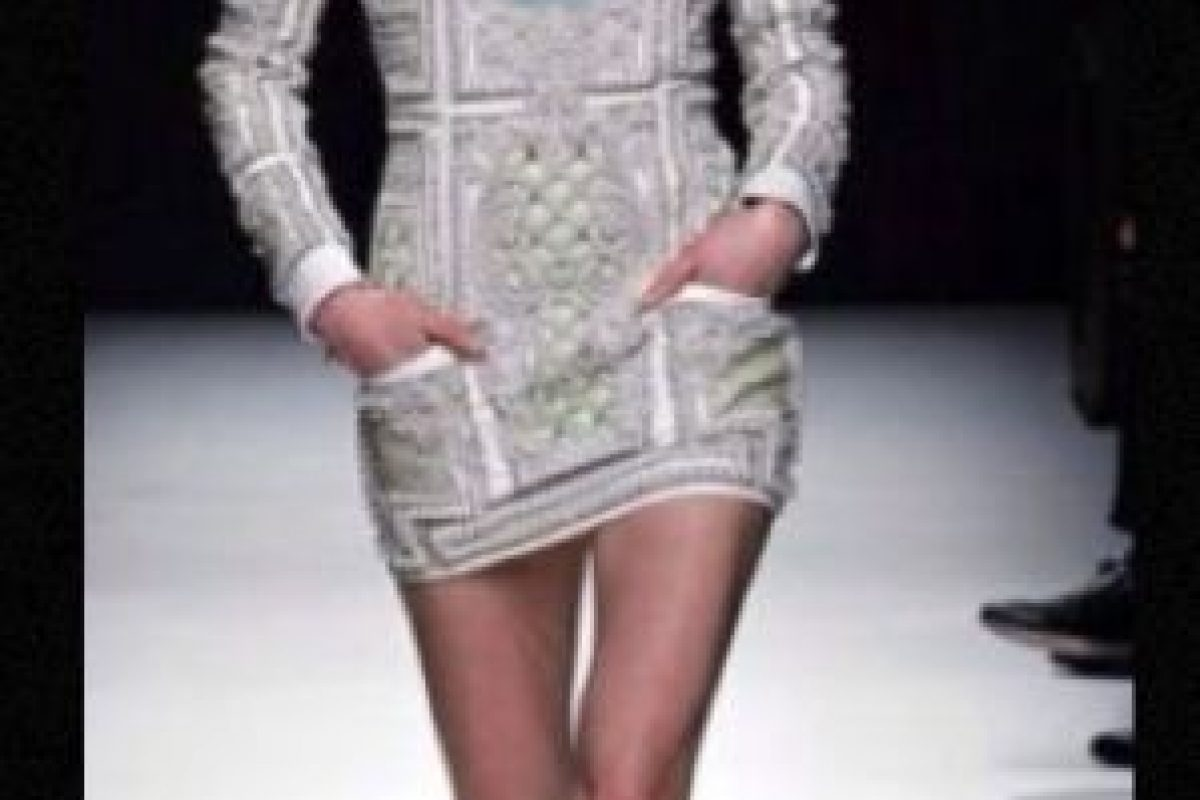 Balmain, estilo rococó. Foto: Getty Images