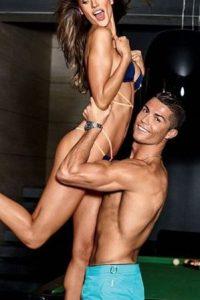 Hizo una gran amistad con la modelo Alessandra Ambrosio Foto:Vía instagram.com/cristiano
