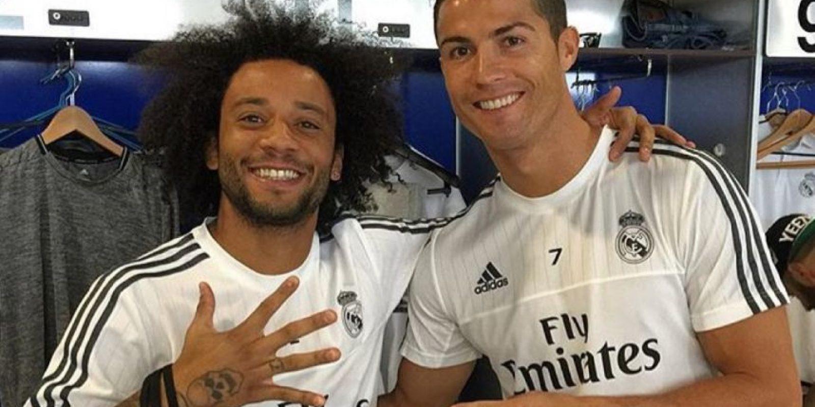 Marcelo es su gran amigo en el Real Madrid Foto:Vía instagram.com/cristiano