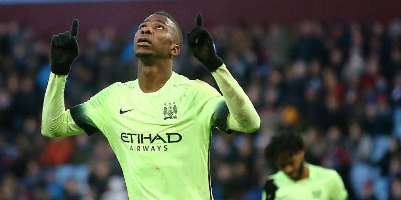 El nigeriano Kelechi Iheanacho celebra un gol. Foto:AFP