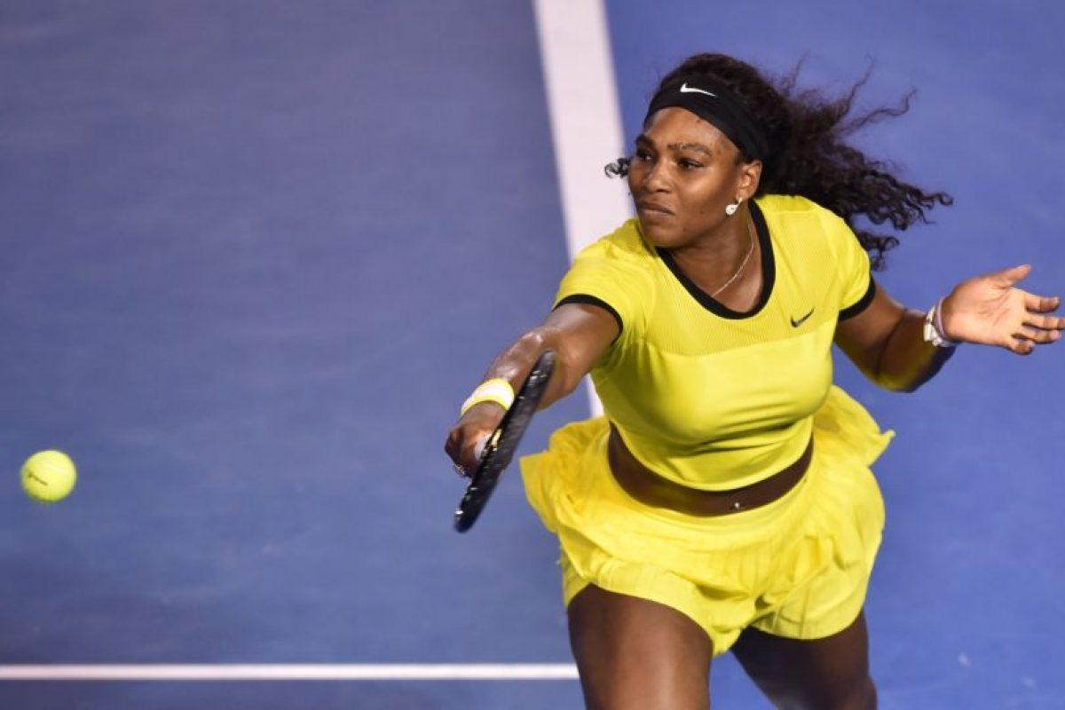 Poco pudo hacer Serena Williams en la final de Australia 2016. Foto:AFP