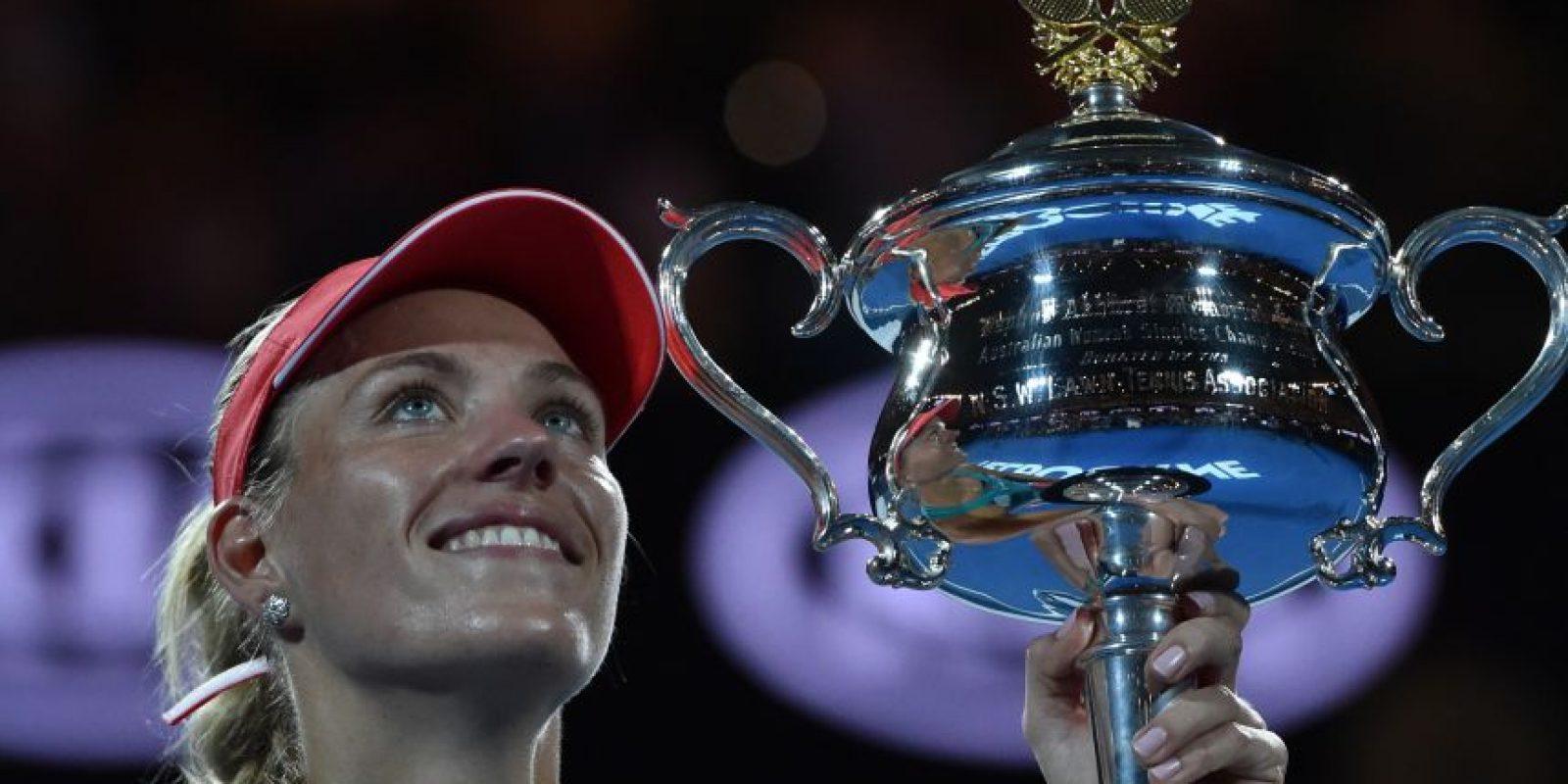 Angelique Kerber se coronó en Australia Foto:AFP