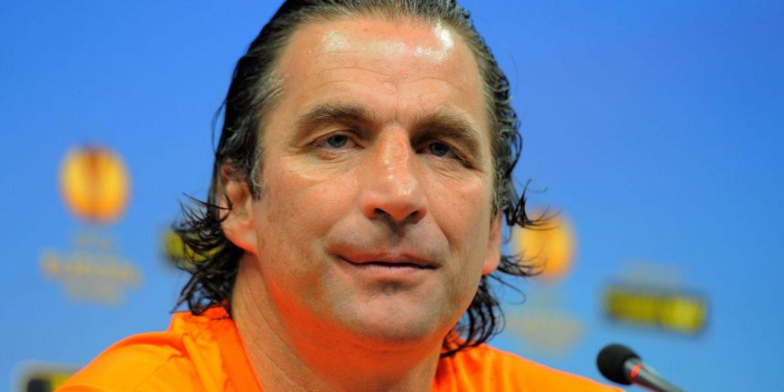 Pizzi durante una conferencia de prensa. Foto:AFP
