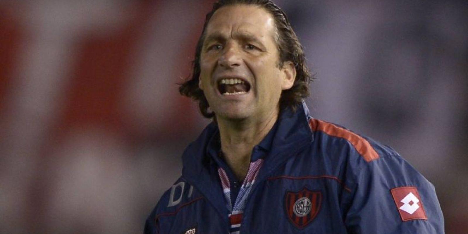 El técnico durante su paso por San Lorenzo. Foto:AFP