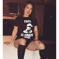 "Ropa con la leyenda ""Liberen al Chapo"" Foto:Instagram.com"
